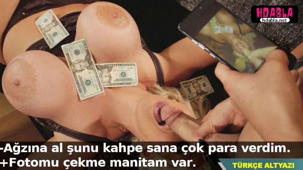 Para lazım diye her türlü kahpeliği yapan kadın manitasına yakalandı