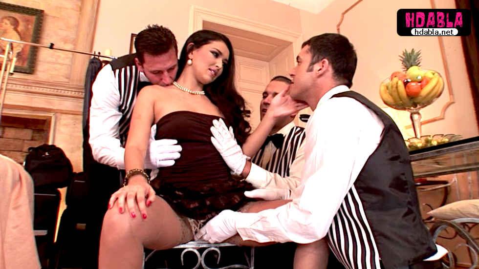 Rus çıtır otel görevlilerine bahşiş yerine amını verdi anal
