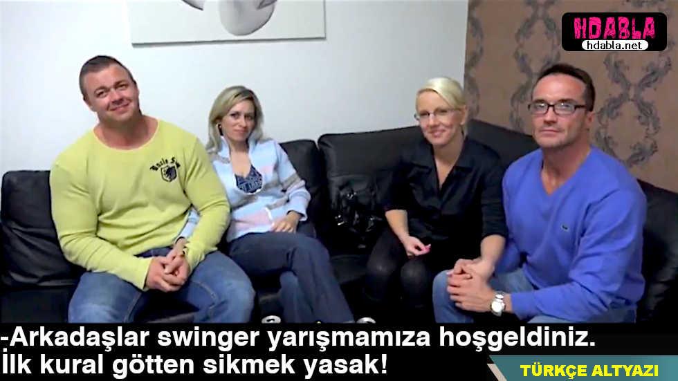 Czechli çiftler kadınlarını değiştirerek swinger yapıyor Bölüm 1