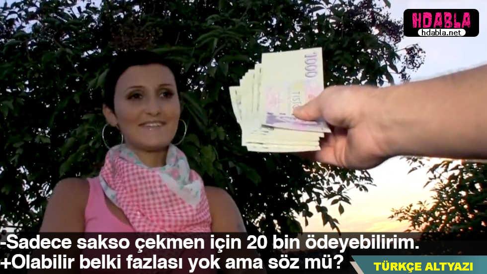 Kasiyer kıza 2 ay çalışsa kazanamayacağı parayı teklif etti