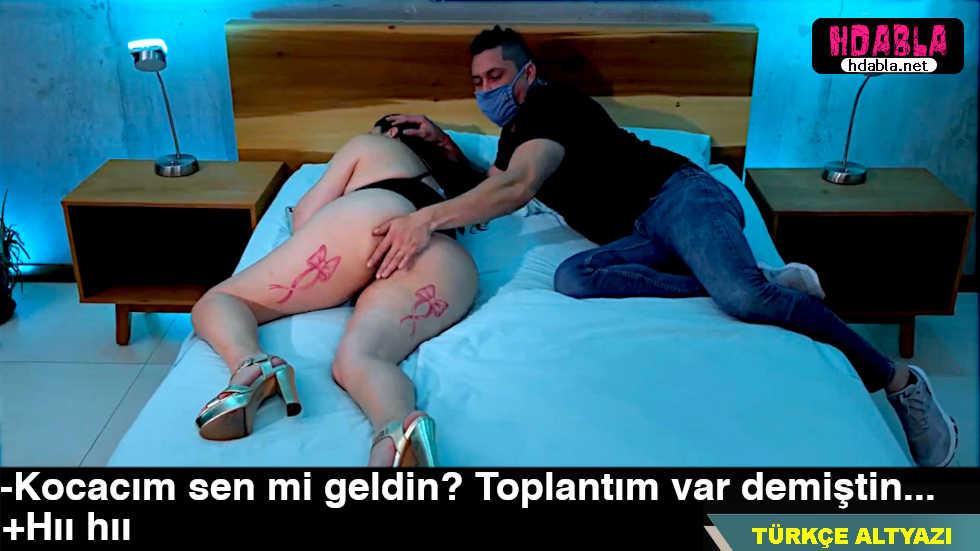 Uyurken içine giren yarağı kocasının sandı halbuki hırsızındı