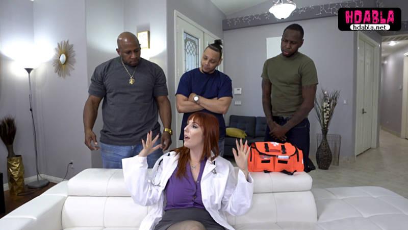 Zencilere suni teneffüs nasıl yapılır gösteren doktor siki tuttu