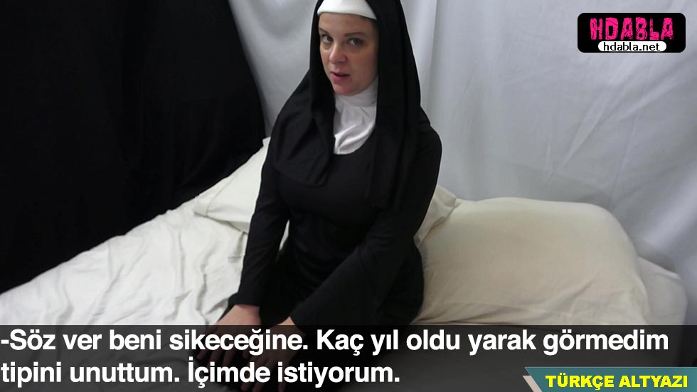 Eski orospu kapanıp rahibe olmuş Bugün tövbesini bozuyor