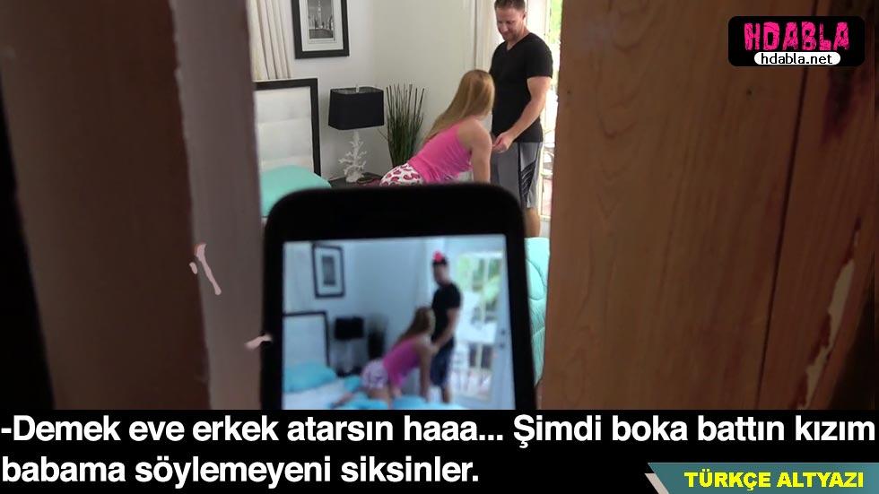 Kız kardeşimi eve erkek atarken yakaladım Video çekip tehdit ettim