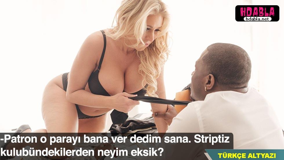 Patronuna striptiz kulübüne vereceğin parayı bana ver deyip soyundu