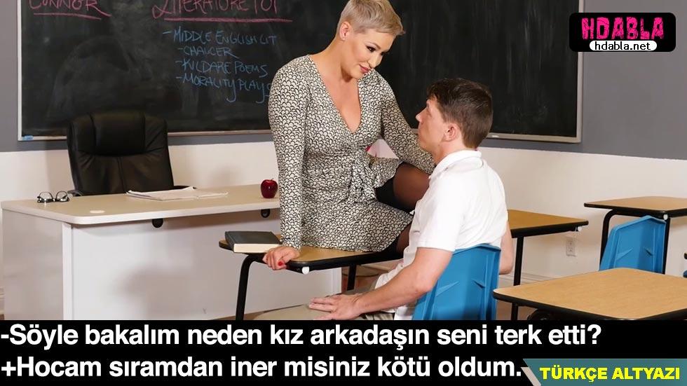Olgun öğretmen Aşk acısı çeken öğrencisini mutlu etti