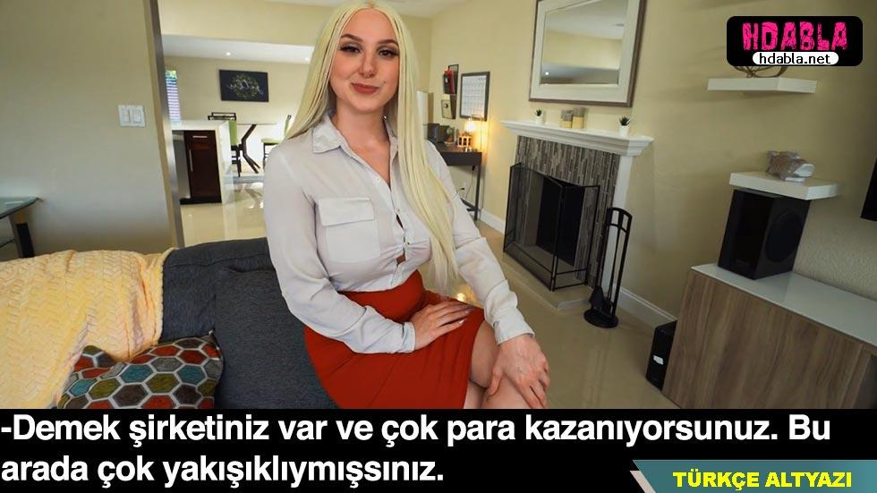 Emlakçı kadın ev kiraladığı zengin erkeğe kapak atmaya çalışıyor