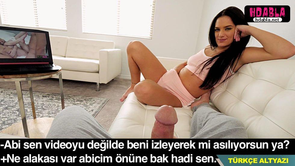 Kız kardeşimle porno izledik O amını elledi ben sikimi