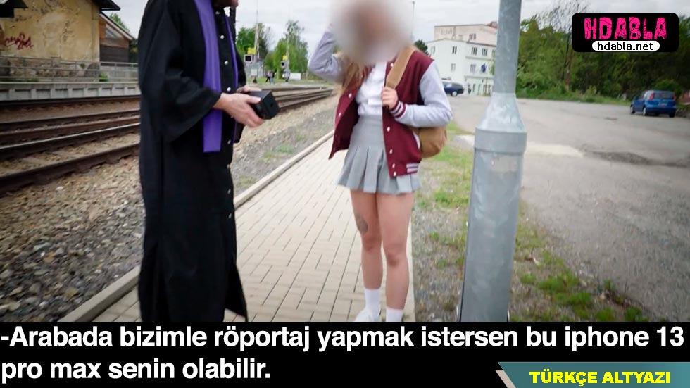 Üniversiteli kızı telefon ile kandırıp transitin arkasında çaktı